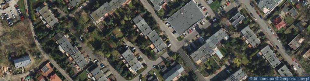 Zdjęcie satelitarne Odolanowska 12