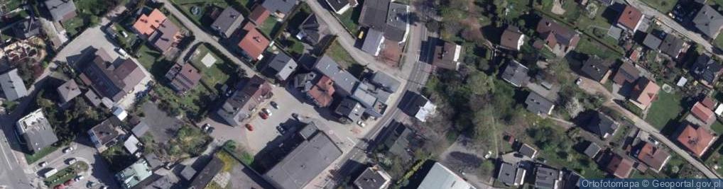 Zdjęcie satelitarne Ofiar Terroru ul.