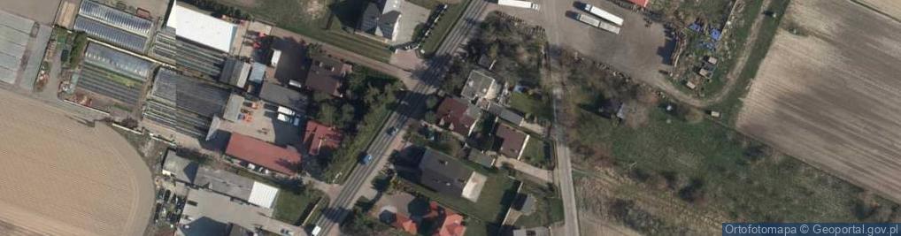 Zdjęcie satelitarne Ogrodnicza ul.