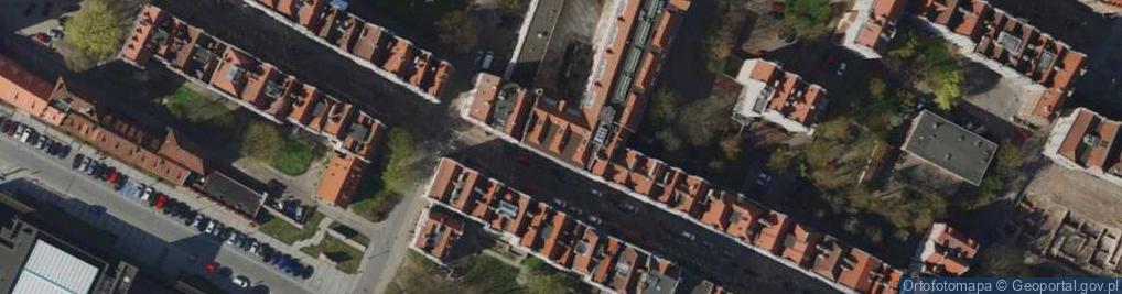 Zdjęcie satelitarne Ogarna ul.