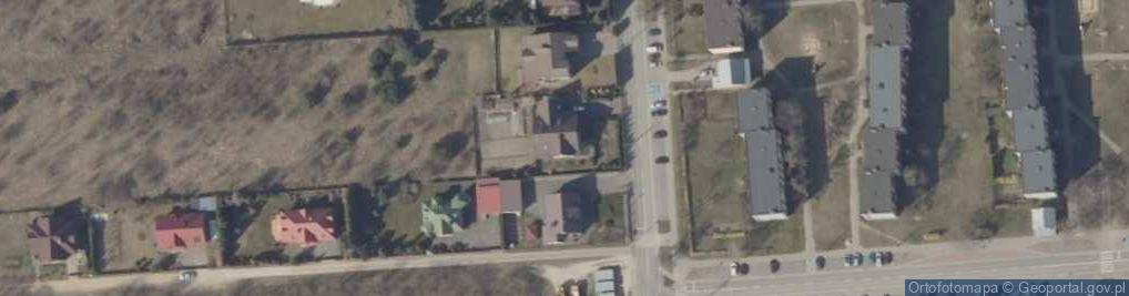 Zdjęcie satelitarne Ogrodowa 22