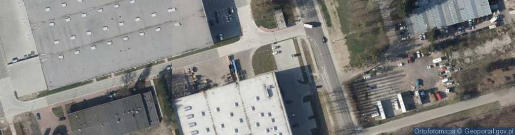 Zdjęcie satelitarne Okólna ul.