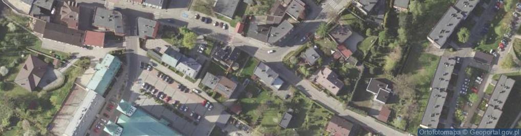 Zdjęcie satelitarne Okrzei Stefana 34