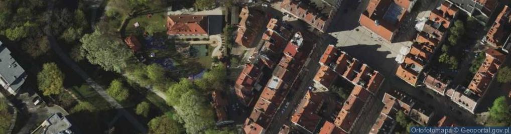 Zdjęcie satelitarne Okopowa 12
