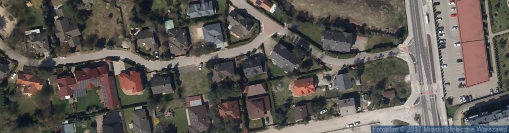 Zdjęcie satelitarne Okrągła ul.