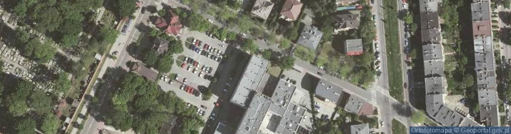 Zdjęcie satelitarne Olszańska 5
