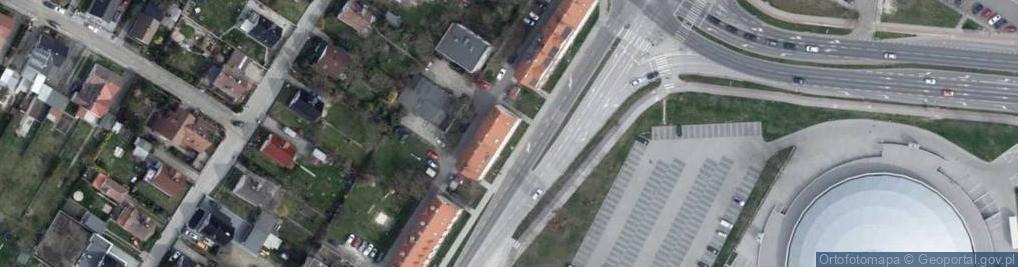 Zdjęcie satelitarne Oleska 81