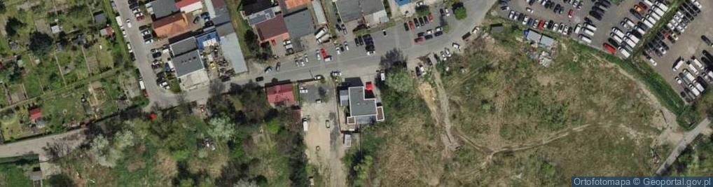 Zdjęcie satelitarne Olsztyńska 6