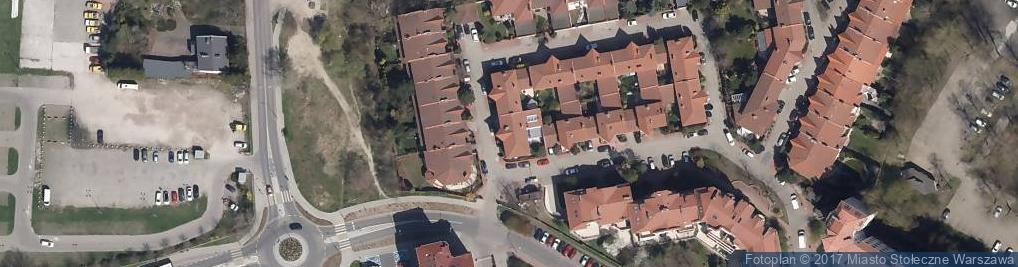 Zdjęcie satelitarne Opaczewska 60