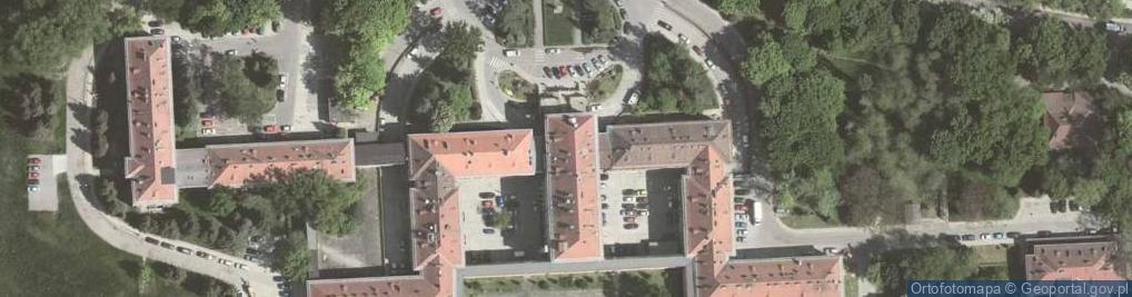 Zdjęcie satelitarne Osiedle na Skarpie os.