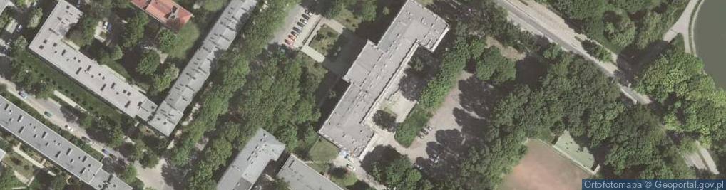 Zdjęcie satelitarne Osiedle Szkolne os.