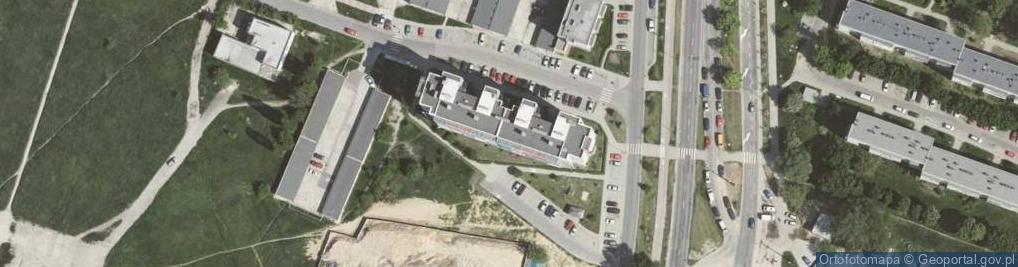 Zdjęcie satelitarne Osiedle Dywizjonu 303 62