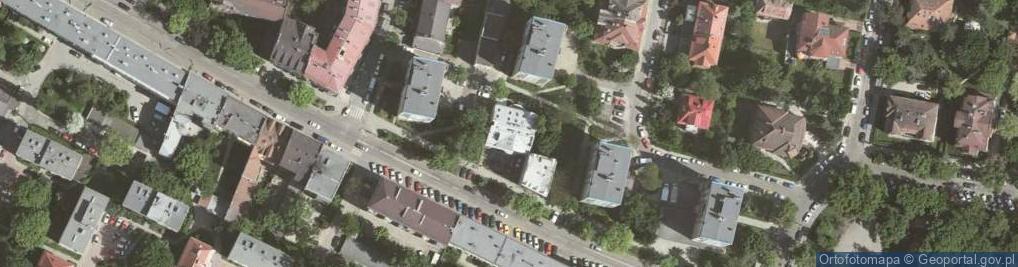 Zdjęcie satelitarne Osiedle Kazimierza Wielkiego os.