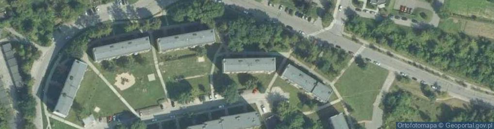 Zdjęcie satelitarne Osiedle Sikorskiego Władysława, gen. 8