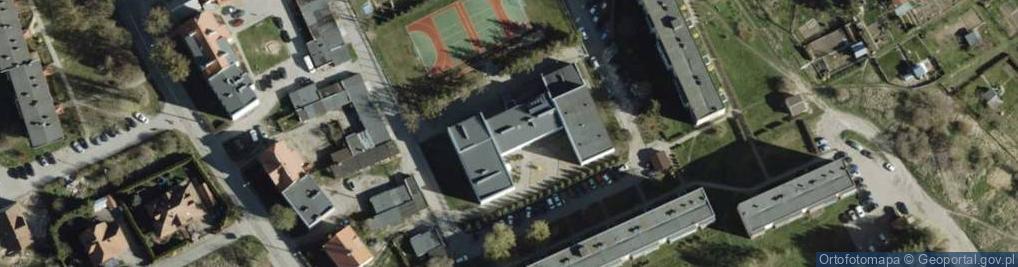 Zdjęcie satelitarne Osiedle Młodych os.
