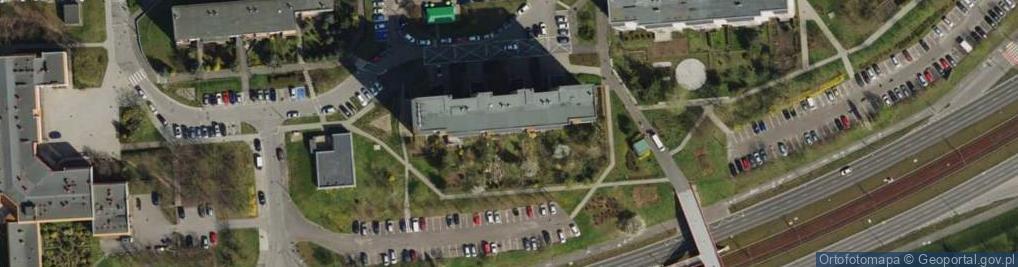 Zdjęcie satelitarne Osiedle Stare Żegrze os.