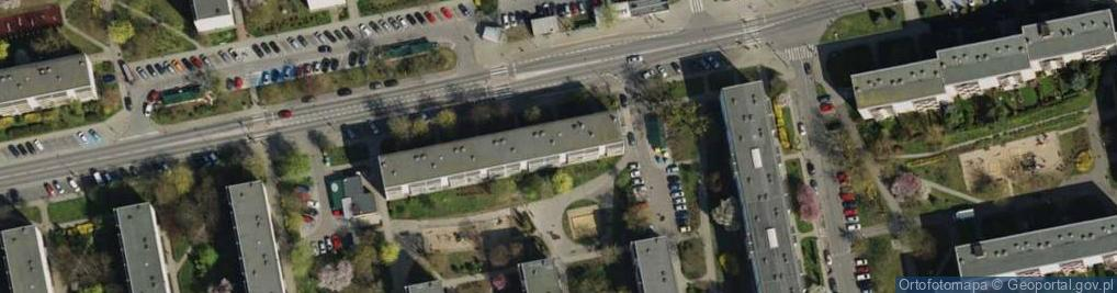 Zdjęcie satelitarne Osiedle Armii Krajowej os.