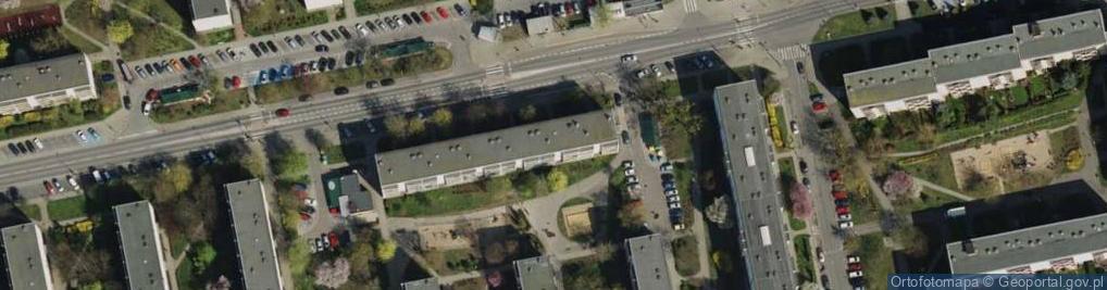 Zdjęcie satelitarne Osiedle Armii Krajowej 90