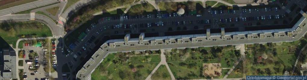 Zdjęcie satelitarne Osiedle Orła Białego 15