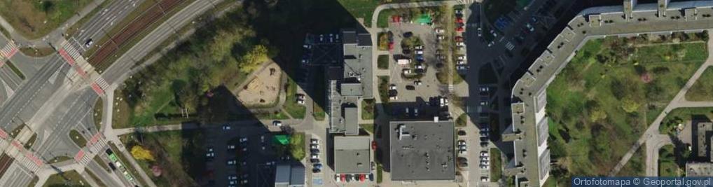 Zdjęcie satelitarne Osiedle Orła Białego 4