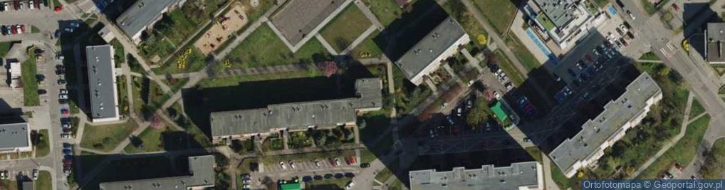 Zdjęcie satelitarne Osiedle Stare Żegrze 23