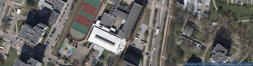 Zdjęcie satelitarne Ossowskiego Michała ul.
