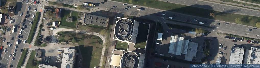 Zdjęcie satelitarne Ostrobramska 83