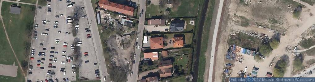 Zdjęcie satelitarne Ostródzka 14