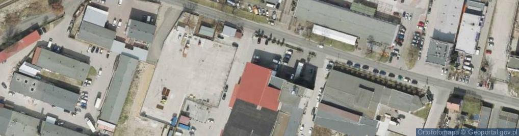 Zdjęcie satelitarne Osadnicza ul.