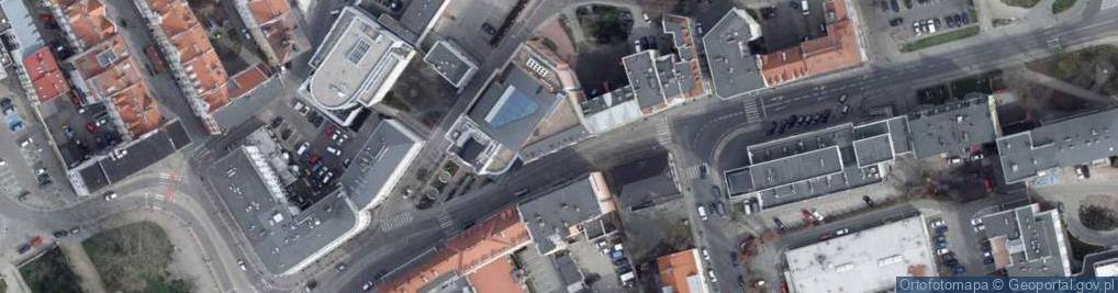 Zdjęcie satelitarne Ozimska ul.