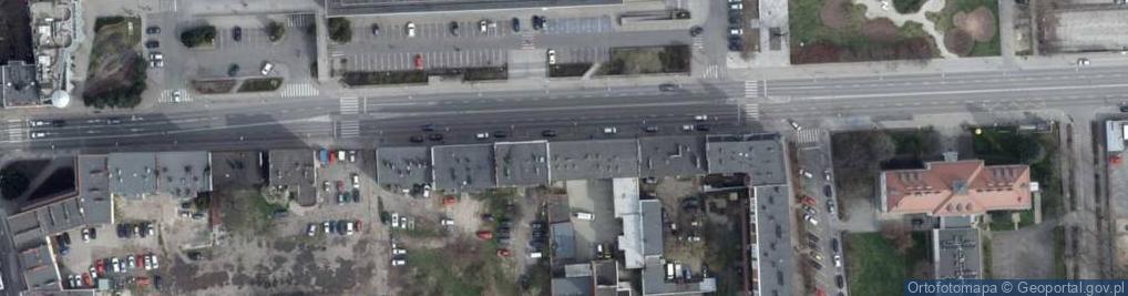Zdjęcie satelitarne Ozimska 40