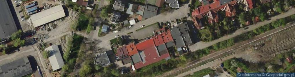 Zdjęcie satelitarne Ożynowa ul.