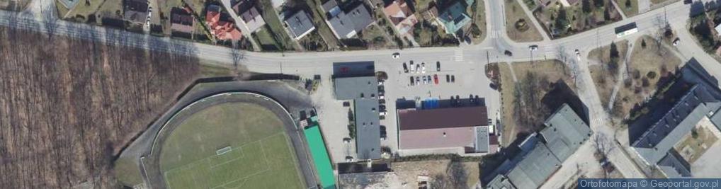 Zdjęcie satelitarne Parkowa 1