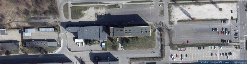 Zdjęcie satelitarne Papiernicza 7