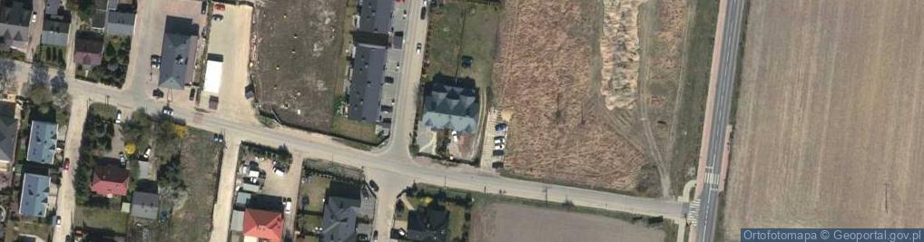 Zdjęcie satelitarne Partyzantów 4
