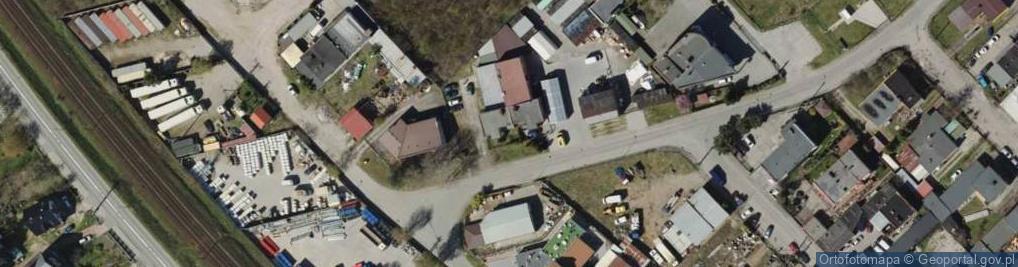Zdjęcie satelitarne Parkowa 10