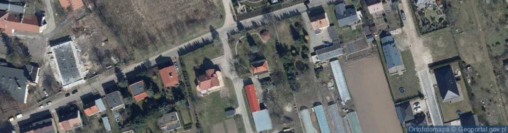 Zdjęcie satelitarne Partyzancka 22