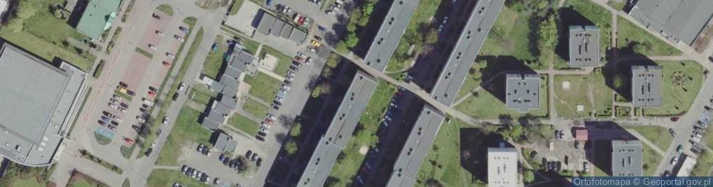 Zdjęcie satelitarne Paderewskiego Ignacego Jana 18