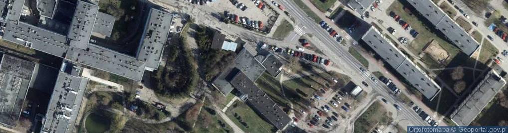 Zdjęcie satelitarne Parzęczewska 35