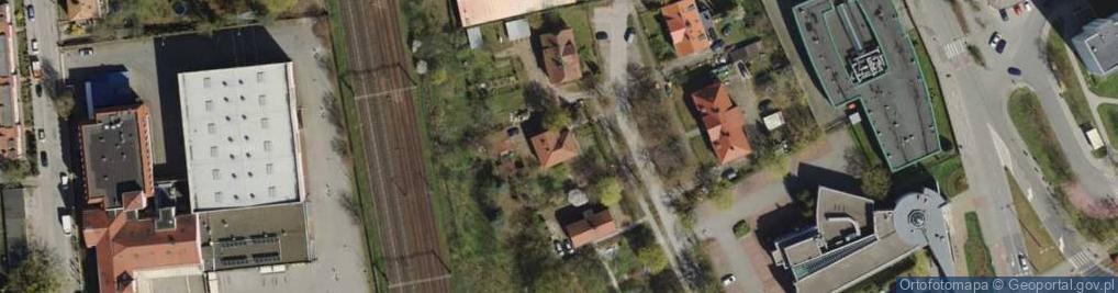 Zdjęcie satelitarne Pelplińska ul.