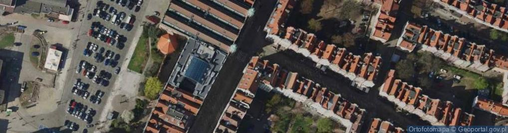 Zdjęcie satelitarne Piwna ul.