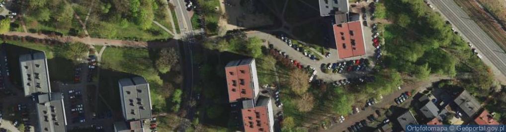 Zdjęcie satelitarne Piastów 11