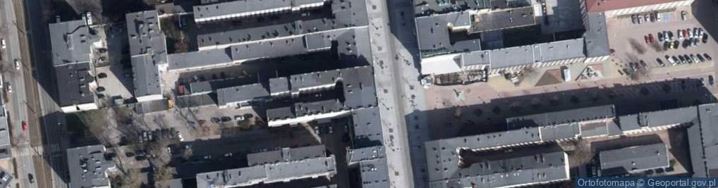 Zdjęcie satelitarne Piotrkowska 113