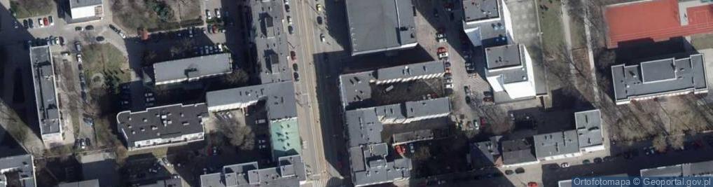 Zdjęcie satelitarne Piotrkowska 192