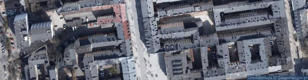 Zdjęcie satelitarne Piotrkowska 28
