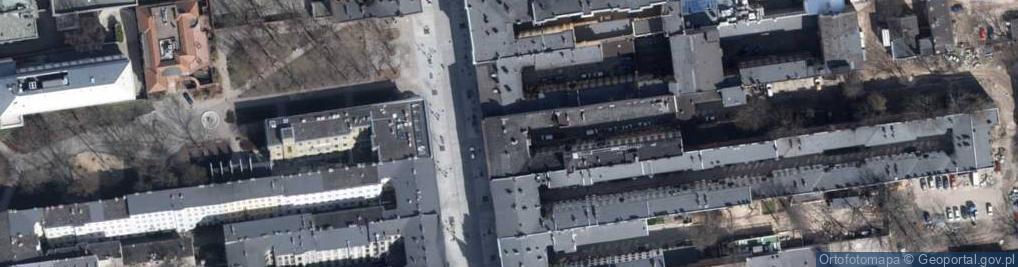 Zdjęcie satelitarne Piotrkowska 80