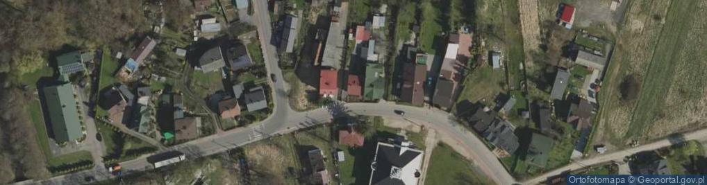 Zdjęcie satelitarne Piękna 19