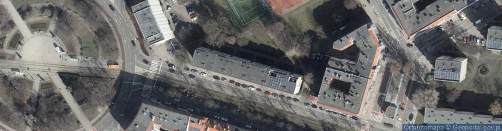 Zdjęcie satelitarne Piłsudskiego Józefa, marsz. 10