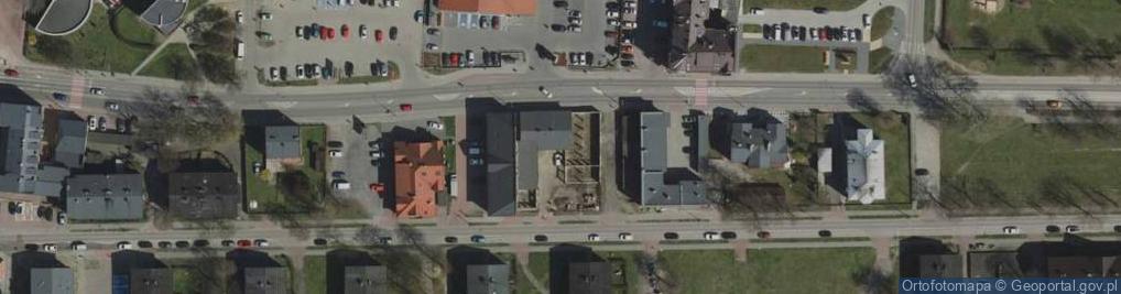 Zdjęcie satelitarne Piłsudskiego Józefa, marsz. 16
