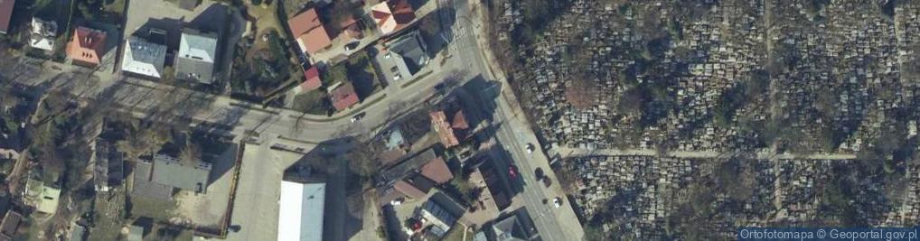 Zdjęcie satelitarne Płońska 10